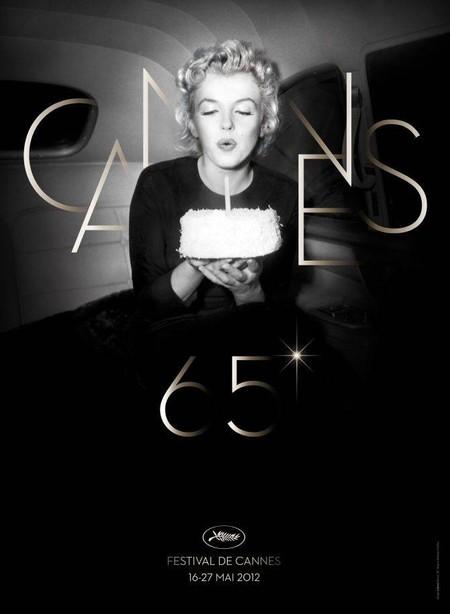 Marilyn Monroe, affiche Festival de Cannes 2012: L'actrice sera l'égérie de la prochaine édition