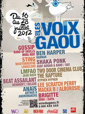 LES VOIX DU GAOU 5 (var) 16 au 28 juillet 2012