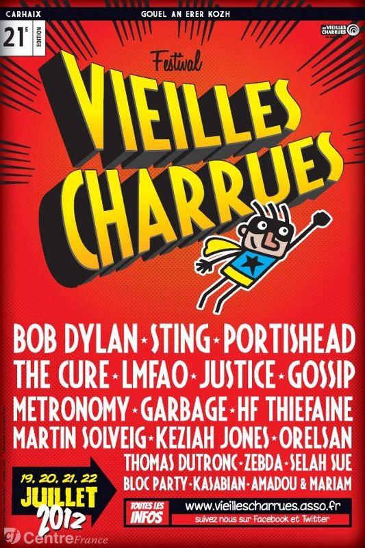 VIEILLES CHARRUES (Bretagne) 19-22 juillet 2012