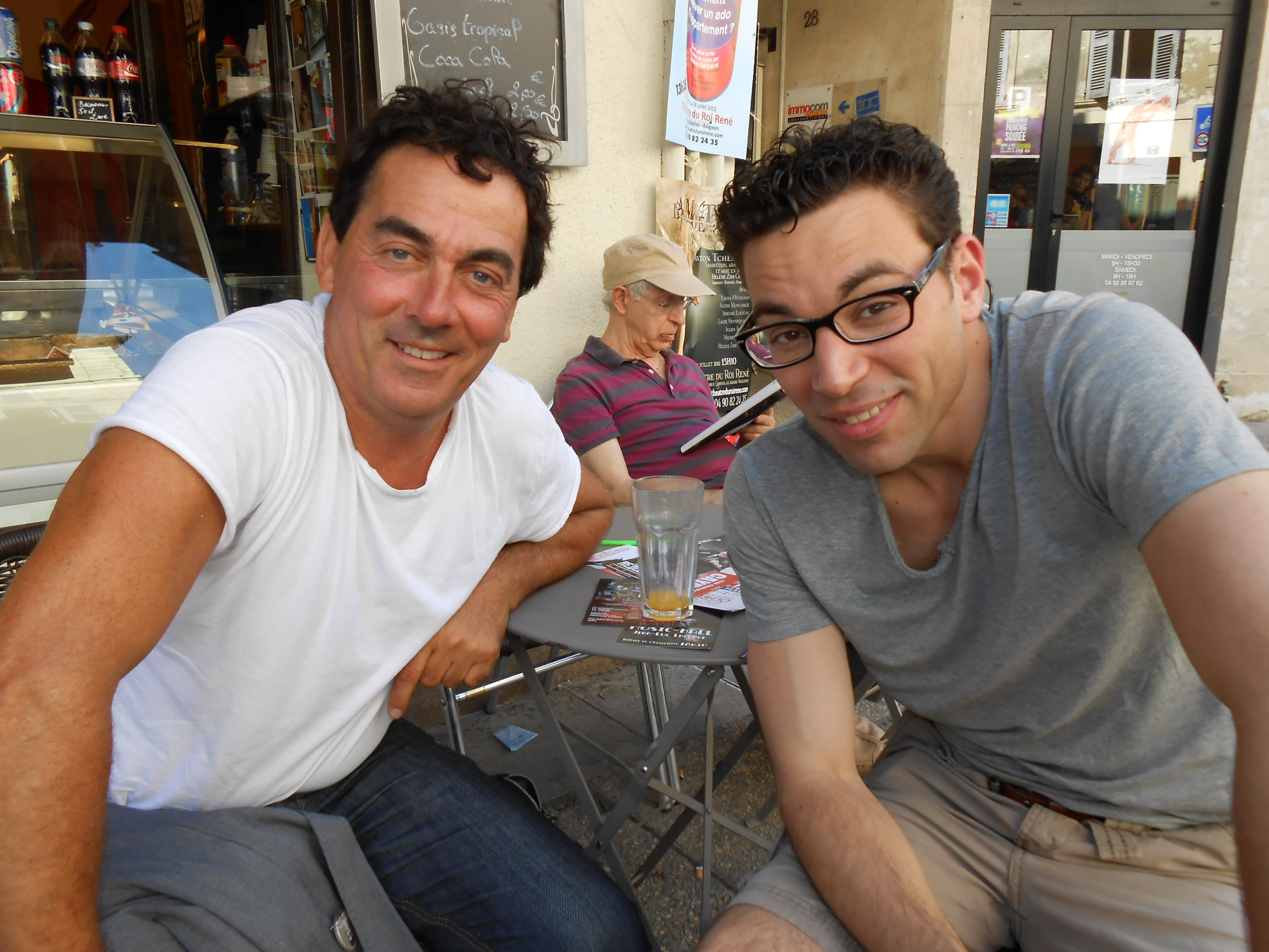 FESTIVAL D'AVIGNON OFF Juillet 2012 photos & vidéo (1er week end)