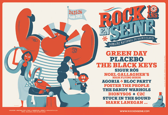 Festival Rock en Seine - https://www.blogdesfestivals.com
