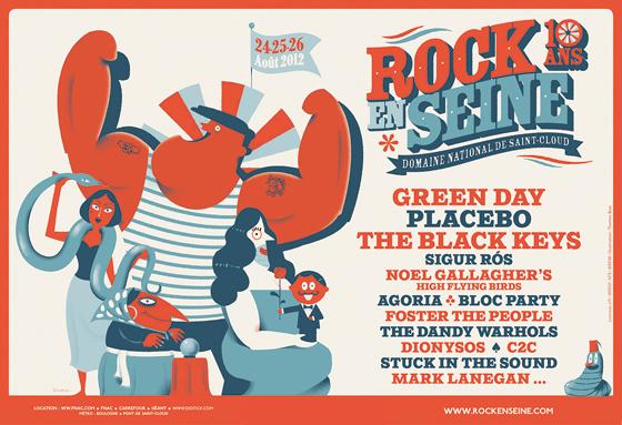 Festival Rock en Seine 2012