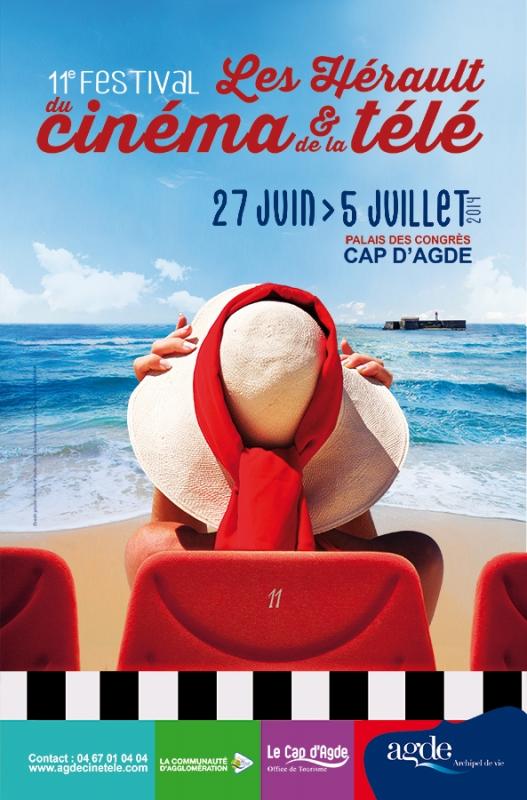 Festival Herault du Cap d'Agde du Cinéma et de la Télé 27juin- 5 juillet 2014