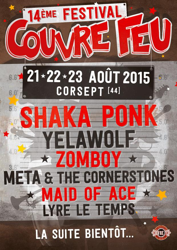 Festival Couvre Feu:  21, 22, 23 août 2015 – Corsept (44)